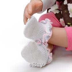 Sweet Brown Eyed Girl Baby Doll 20 by Ashton Drake, Poseable New
