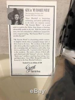 THE ASHTON-DRAKE-GENE DOLL MY FAVORITE WITCH Signed By Mel Odom