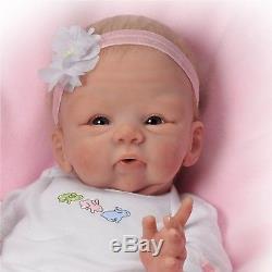 Tasha Edenholm Snuggle Bunny Lifelike Poseable Baby Doll Ashton Drake