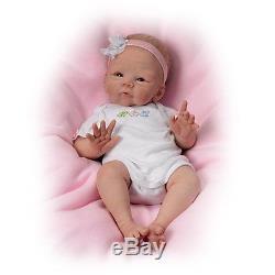 Tasha Edenholm Snuggle Bunny Lifelike Poseable Baby Doll by The Ashton-Drake