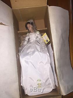 The Ashton-Drake Galleries Disney Princess Brides Belle Bride 12 Doll MIB