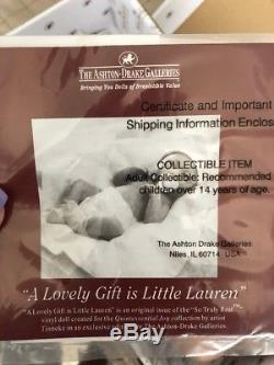 The Ashton-Drake Galleries Dolls! The Lovely Lauren Silicone Doll