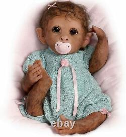 The Ashton-Drake Galleries So Truly Real Baby Monkey Doll Clementine 14