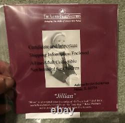 The Ashton-Drake Galleries- So Truly Real- Vinyl DollJILLIAN NIB-COA (85)