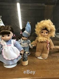 The Ashton Drake Galleries-precious Moments-wizard Of Oz-dolls