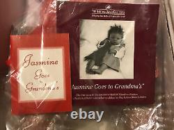The Ashton-Drake- So Truly Real Vinyl Doll-JASMINE GOES TO GRANDMAs-NIB(93)