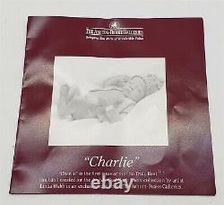 ThriftCHI 1st Iss Linda Webb's So Truly Real Charlie Vinyl Doll Ashton Drake