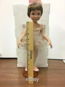 Tina Porcelain Ballerina by Dianna Effner for Ashton Drake