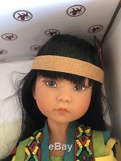 Tiny Fancy Shawl Dancer Doll