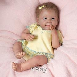 Tummy Tickles Doll, Giggles & Moves When You Tickle Her Ashton-Drake Galleries