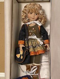 Very Rare Dianna Effner Goldilocks-NRFB-COA-Vinyl Bjb- 25 Yr. Anniversary