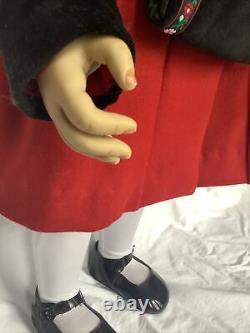 Vintage Ashton Drake 30 Doll Maddies Christmas Visit Waltraud Hanl Red Coat