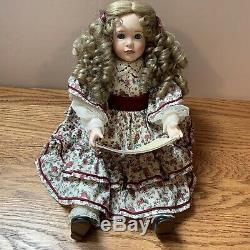 Vintage Little Women 5 Porcelain Dolls Amy Beth Meg Jo Marmee Ashton Drake RARE