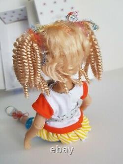 Vinyl BJD Doll Sunshine and Lollipops by Ashton Drake Galeries and Dianna Effner