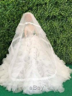 WEDDING DRESS BY T. D. Outfit for Gene Doll Only