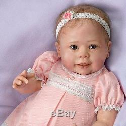 What Ella Loves 22'' Interactive Ashton Drake Doll New NRFB