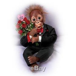 Wild About You Ashton Drake Monkey Doll By Simon Laurens 16 inches