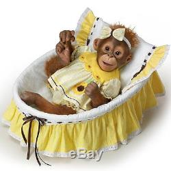 You Are My Sunshine Ashton Drake Monkey Doll by Emily Jameson 17 inches