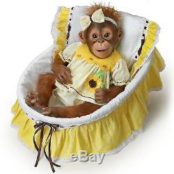 You Are My Sunshine Monkey Doll 1 of 5,000 By The Ashton-Drake Galleries